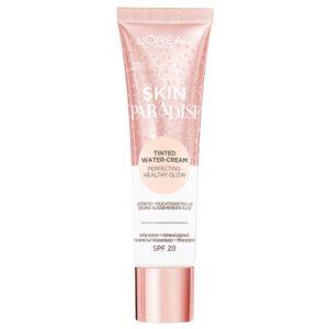 L'Oréal Paris Skin Paradise Water-Cream hidratante con color y SPF 20, tono piel claro FAIR 02